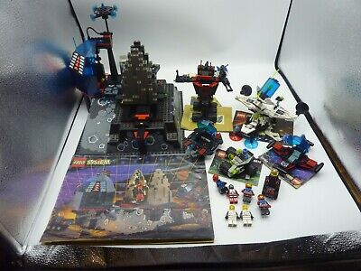 Vintage Lego Space Sets Lot 6959/6856/6835/6818/Others Near Complete System Rare