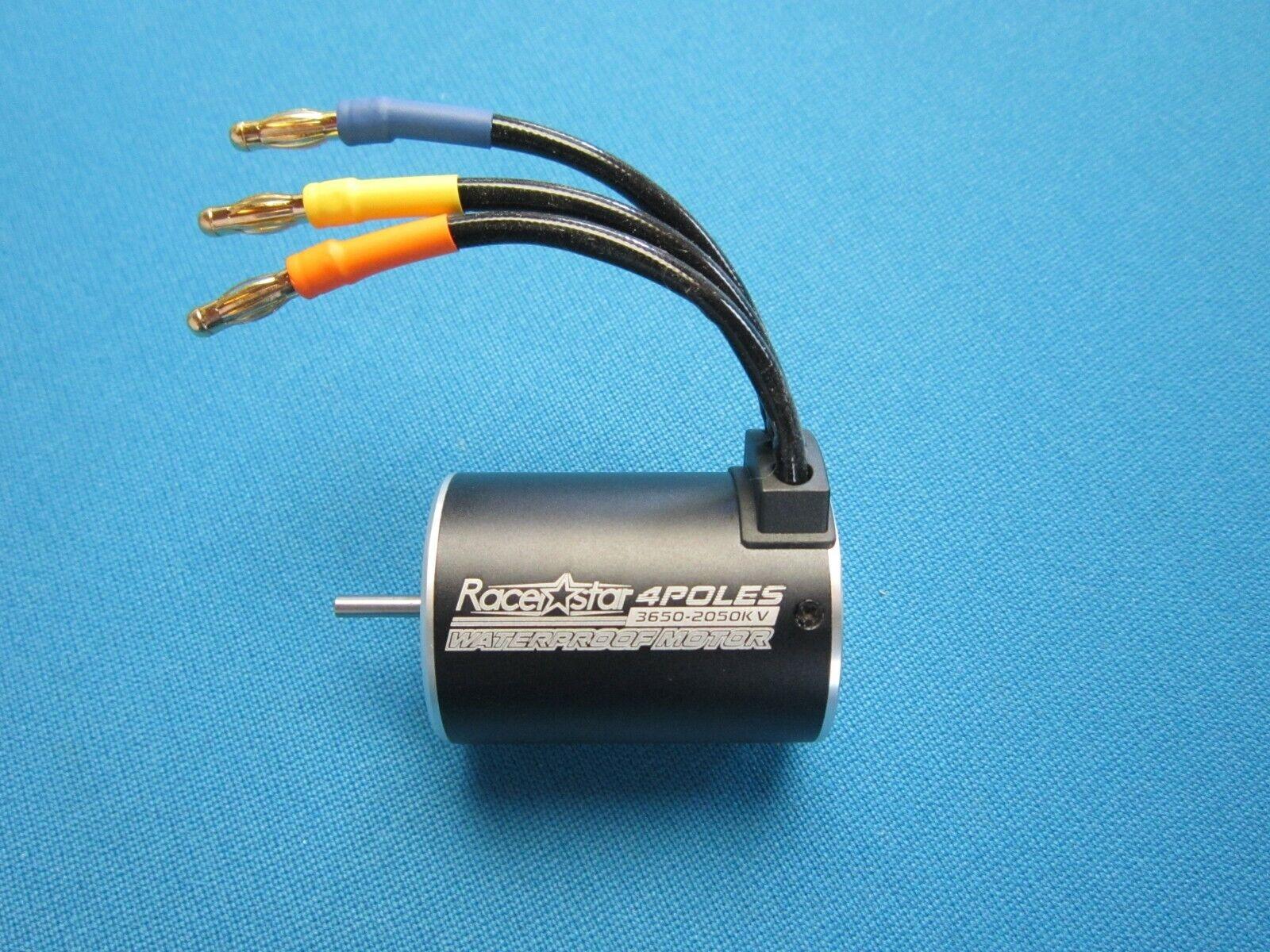 3650 brushless motor waterproof 2050kv 2 5s