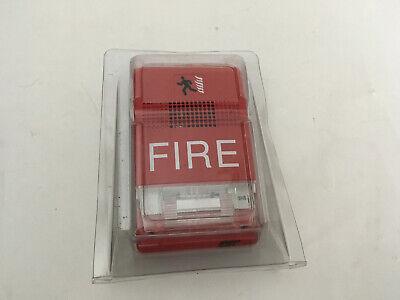 Nib New Est Edwards G1rf-hov75 Fire Alarm Temporal Hornstrobe Wall Red
