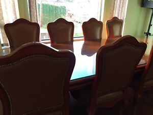 Dinning table set with  8 chairs