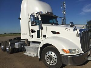 2012 Peterbilt 386 day cab truck heavyspec  auto 13 speed