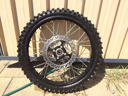250 front dirt bike wheel Botany Botany Bay Area Preview