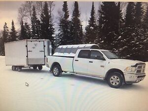 Sno pro 600 and enclosed trailer Ram2500
