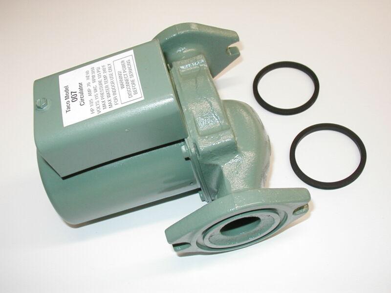 Taco 007-F5 ONE YEAR WARRANTY Cast Iron Circulator Pump 120 Volt 1/25 hp 007