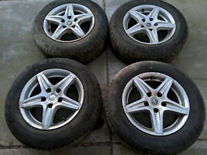 """Set of 15""""Roh wheels 5x114.3pcd with near new tyres"""