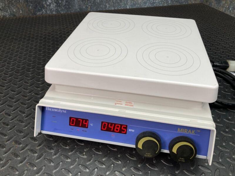 Thermolyne Mirak 12x12 4-Position Stirrer Hotplate SP73235-60