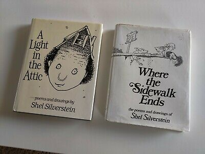 Where the Sidewalk Ends & A Light In The Attic Shel Silverstein