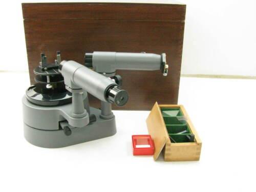 PASCO Student Scientific Spectrometer SP-9268 With Wood Case C19