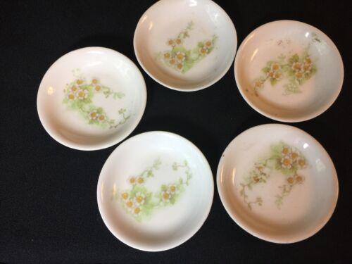 Vintage Fine China Limoges? Butter Pats Floral Design