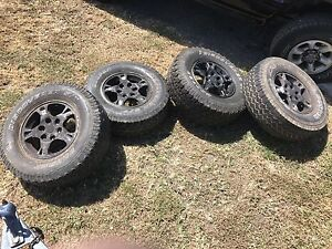 "16 "" tyres for sell must go asap Gleneagle Ipswich South Preview"