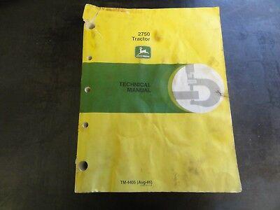 John Deere 2750 Tractor Technical Manual Tm-4405