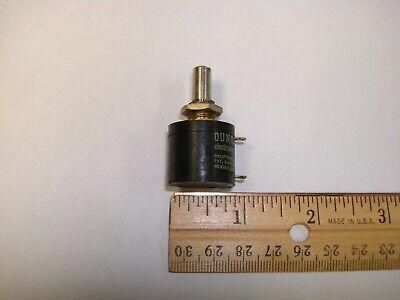 Duncan 3253 Rotary Potentiometer 10 K Ohm 10 Turn Linear 10k Pot