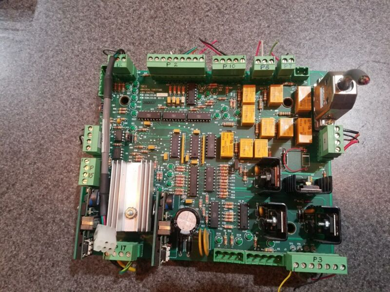Del Medical OTC-3 Universal Tubestand Lock Control Board 5284.135.08