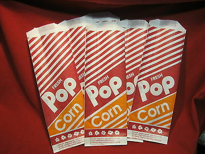 Gold Medal Popcorn Bags 1 Oz 25 Bags- Brand New 4-2054 4 3 12 X 2x9 34
