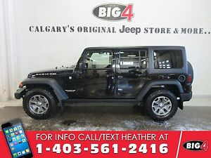 2015 Jeep Wrangler Unlimited Rubicon | Oversized Tires | Bluetoo