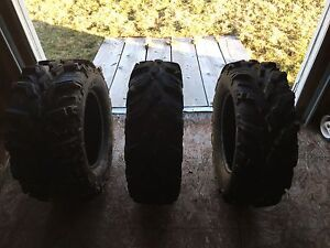 Side by side tires