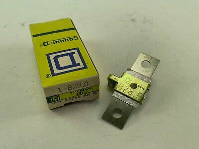 Square D B28.0 Overload Relay Thermal Unit New