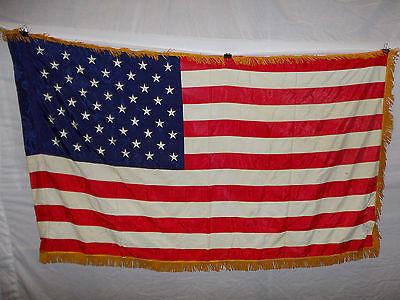 flag115  US 50 Star Flag Regimental Issue original Vietnam - now
