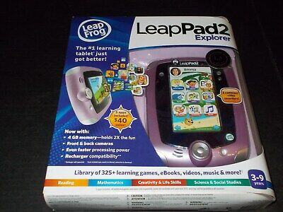 Leap Frog Leapfrog LeapPad2 Explorer Disney Pink Kids Toy Tablet New Sealed for sale  Shipping to India
