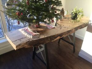 Custom Spalted Maple Dining Table