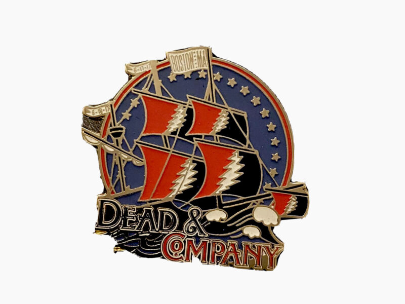 Dead and Co Pin 2017 Grateful Fenway Boston Lt Edition Red Sox Ship Of Fools. 🌹