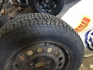 205/60r15 winter tires and wheels
