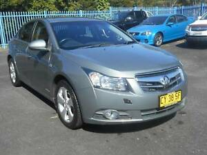 2010 Holden Cruze CDX Manual Sedan Lismore Lismore Area Preview