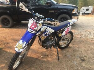 2011 TTR230 and ladies riding gear