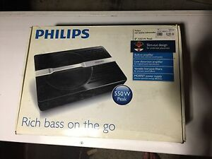 Philips, car/ute sub/amp amplifier and subwoofer Paradise Point Gold Coast North Preview