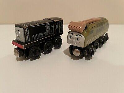 Thomas & Friends Wooden Railway Train Tank Diesel 10 Sliding Claw & Diesel Lot