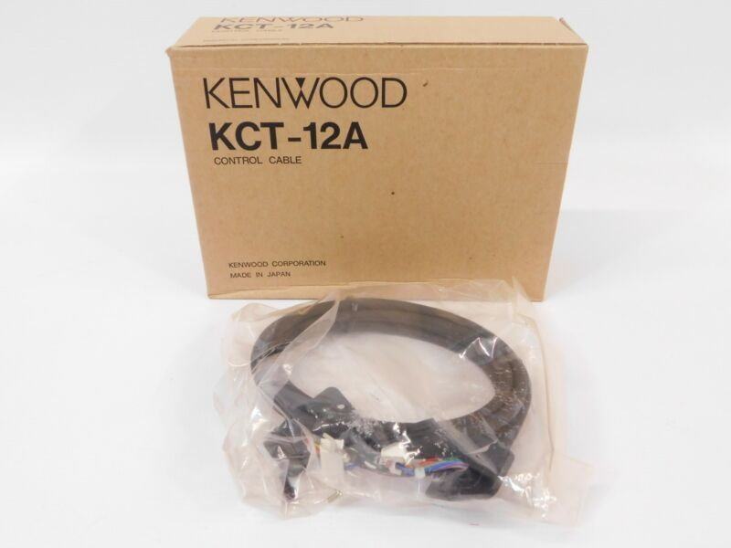Kenwood KCT-12A Commercial Two-Way Radio Control Cable (new in box)