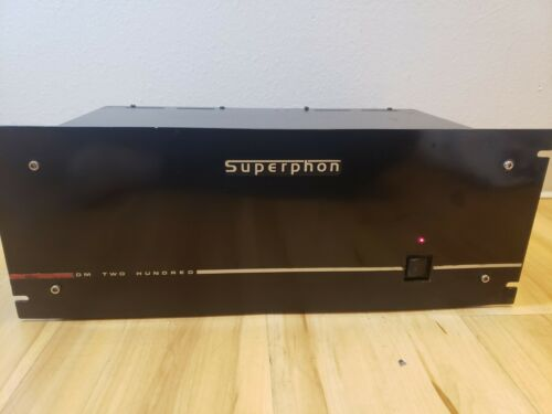 Superphon DM Two Hundred Power Amplifier- EXCELLENT