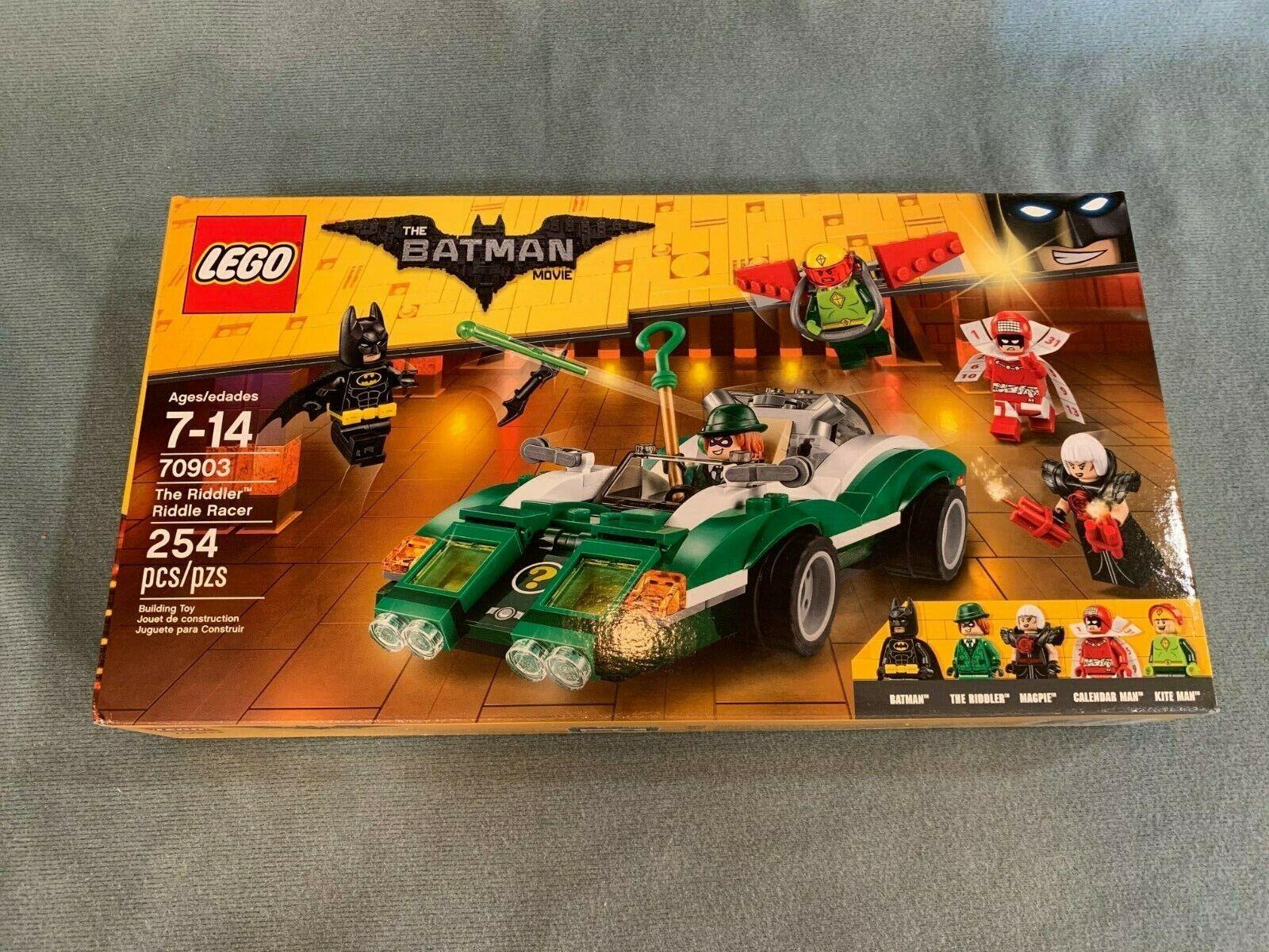 The LEGO Batman Movie - The Riddler; Riddle Racer 70903