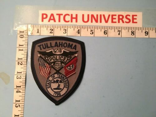TULLAHOMA TENNESSEE  POLICE  SHOULDER PATCH  N117