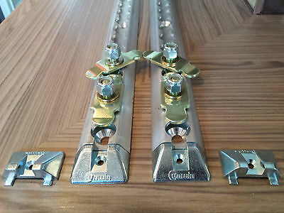 """UNWIN Safety Tracking Surface Rail complete with butterfly seat fixing FB 2x22"""""""