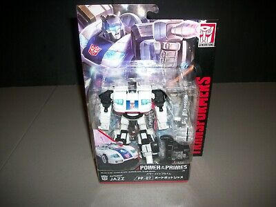 Transformers Takara Power Of The Primes Deluxe Class Jazz PP-07