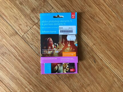 Adobe Photoshop Elements and Premiere 15 Full Software License