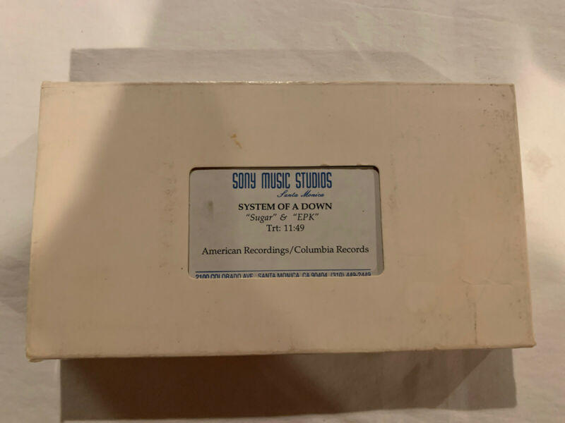 System of a Down Sony Promotional VHS Sugar and EPK