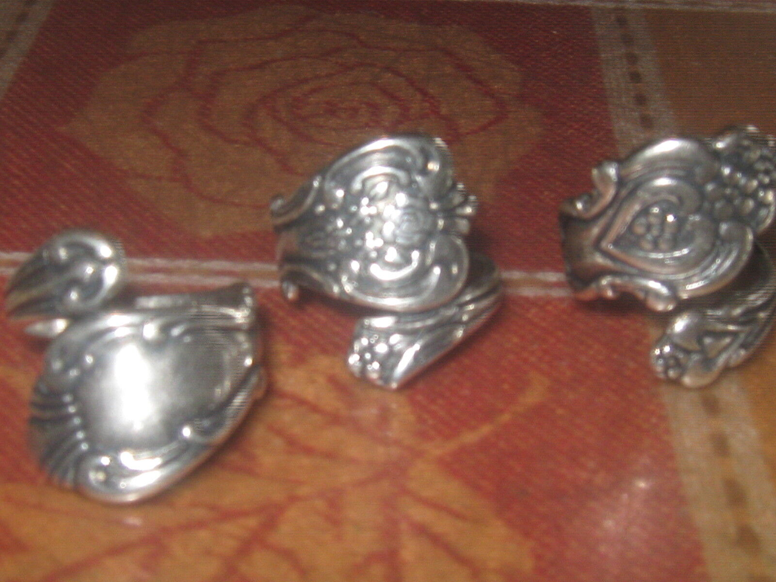 wholesale lot of 5 silver plat... Image 2