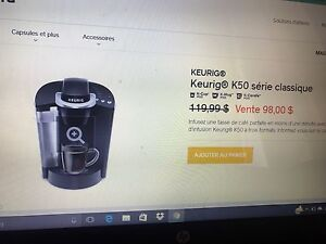 Keurig k50 classic new and cheap