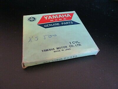 <em>YAMAHA</em> PISTON RINGS XS500 TX500 STANDARD PISTON RINGS ORIGINAL NEW