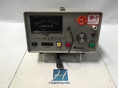 Associated Research 4040at Hypot And Ground Continuity Tester