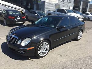 Mercedes E550 2008 4matic