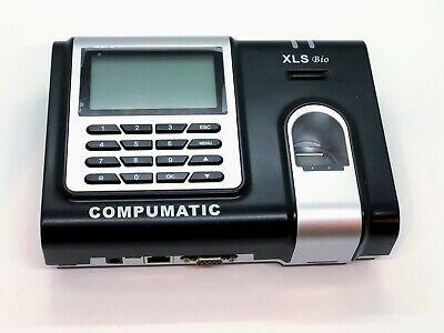 Compumatic Xls Bio Fingerprint Time Clock