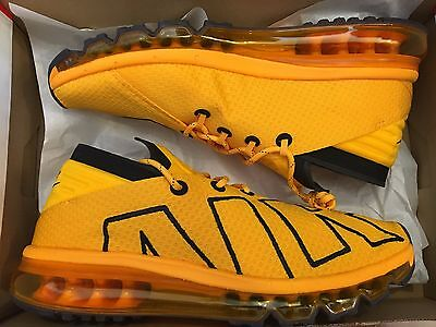 NEW NIKE AIR MAX FLAIR YELLOW GOLD LIMITED 942236-700 RUNNING SHOE MEN SIZE 8