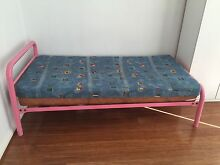 Metal Frame single Bed with 2 foam Mattress in $100 Only Westmead Parramatta Area Preview