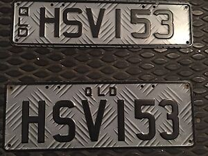 HSV number plates - must go moving this week Redcliffe Redcliffe Area Preview