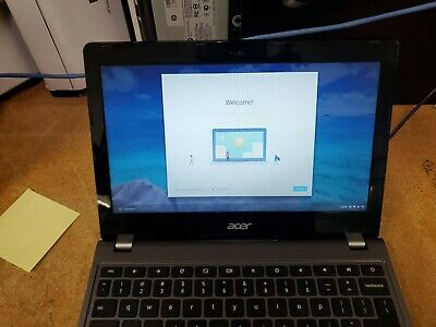 Acer Chromebook C740 - Dual 1.5Ghz, 4GB DDR3L, 16GB SSD, Grade A Condition.