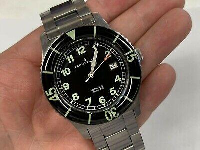 Prometheus Sailfish 300m Automatic Diver 42mm Black Dial Watch