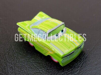 DISNEY PIXAR CARS DIE CAST MINI RACERS GREEN RAMONE BOX #55 FREE SHIP $15+